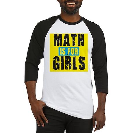 Math for girls Baseball Jersey