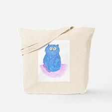 EK's Blue Kitten Tote Bag