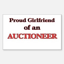 Proud Girlfriend of a Auctioneer Decal