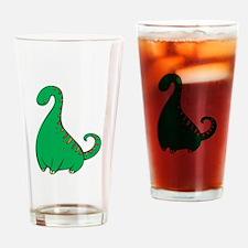 Dinosaur Drinking Glass