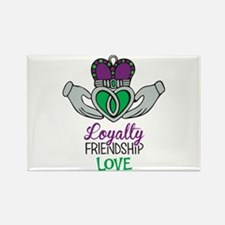 Loyalty Friendship Love Magnets