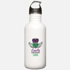 Loyalty Friendship Love Water Bottle