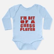 I'm Bit Of Chess Playe Long Sleeve Infant Bodysuit