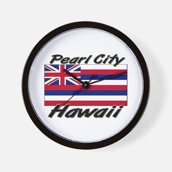 Pearl City Hawaii Wall Clock