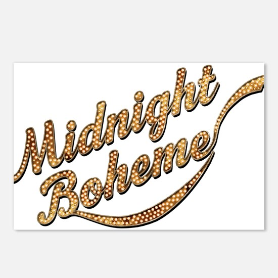 Midnight Boheme Marquee Postcards (Package of 8)