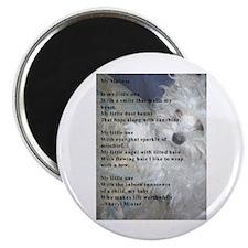 "Maltese poem 2.25"" Magnet (10 pack)"