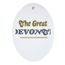 Devonte Oval Ornament
