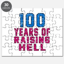 100 Years Of Raising Hell Birthday Puzzle