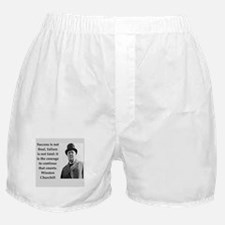 Wisnton Churchill quote on gifts and t-shirts. Box