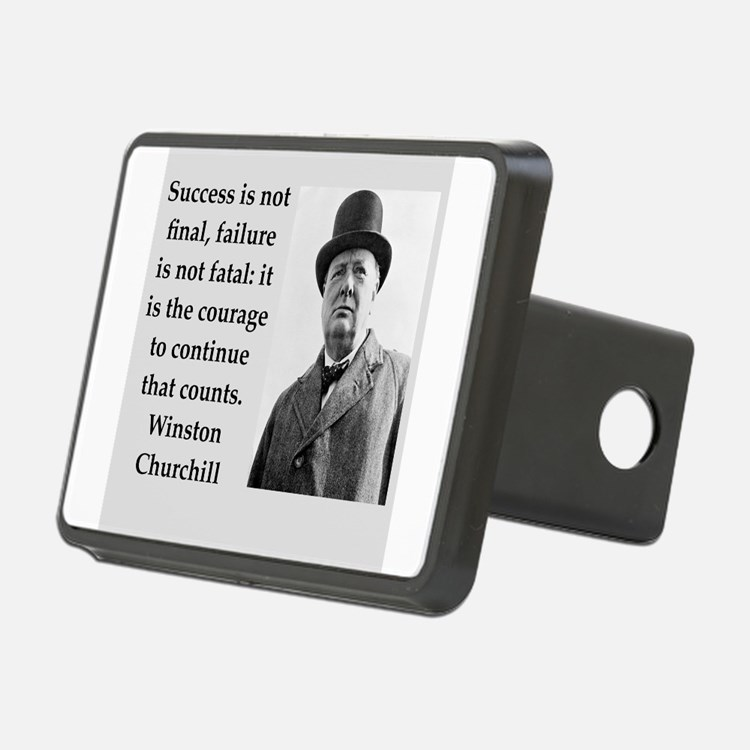 Wisnton Churchill quote on gifts and t-shirts. Hit