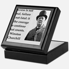Wisnton Churchill quote on gifts and t-shirts. Kee