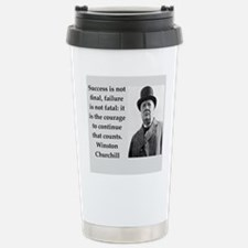 Wisnton Churchill quote on gifts and t-shirts. Tra