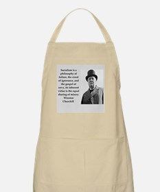 Wisnton Churchill quote on gifts and t-shirts. Apr