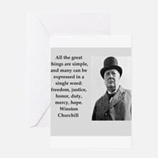 Wisnton Churchill quote on gifts and t-shirts. Gre