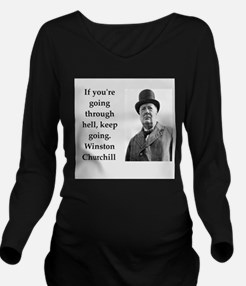 Wisnton Churchill quote on gifts and t-shirts. Lon