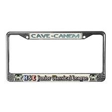Mortifera Rana License Plate Frame