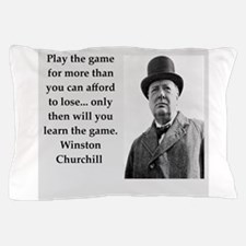 Wisnton Churchill quote on gifts and t-shirts. Pil