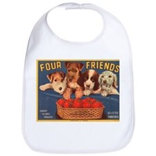 Vintage Four Friends Crate La Bib