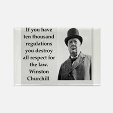 Wisnton Churchill quote on gifts and t-shirts. Mag