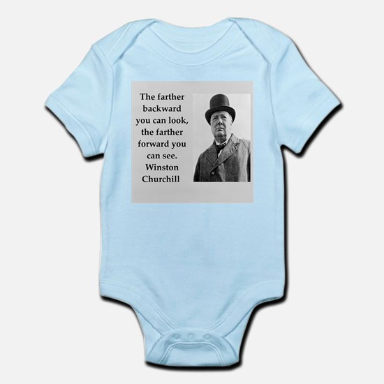 Wisnton Churchill quote on gifts and t-shirts. Bod