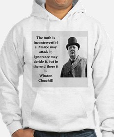 Wisnton Churchill quote on gifts and t-shirts. Hoo
