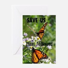 Save Monarchs Greeting Card