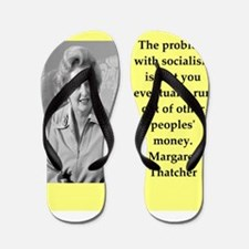 Margaret Thatcher quote Flip Flops