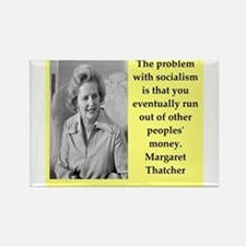 Margaret Thatcher quote Magnets