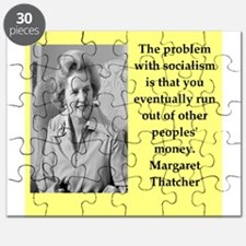 Margaret Thatcher quote Puzzle