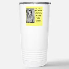 Margaret Thatcher quote Travel Mug