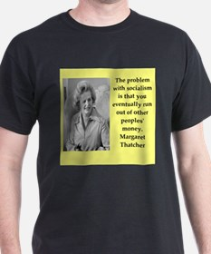 Margaret Thatcher quote T-Shirt