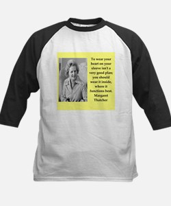 Margaret Thatcher quote Baseball Jersey