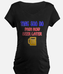 Tang Soo do Pain Now Beer L T-Shirt