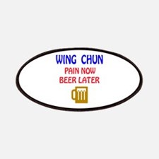 Wing Chun Pain Now Beer Later Patch