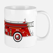 Fire Truck - Vintage fire truck. Mugs