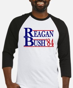 Funny Reagan bush 84 Baseball Jersey