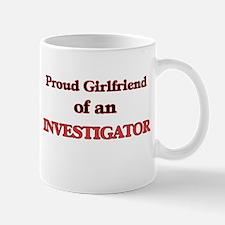 Proud Girlfriend of a Investigator Mugs
