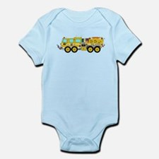 Fire Truck - Concept wild land yellow fi Body Suit