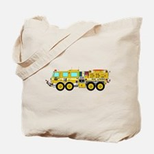 Fire Truck - Concept wild land yellow fir Tote Bag