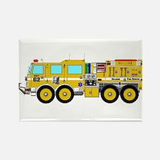 Fire Truck - Concept wild land yellow fire Magnets