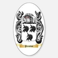 Preston Sticker (Oval)
