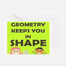 Unique Math Greeting Card