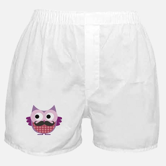 I mustache you....whoo do you love? Boxer Shorts