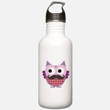 I mustache you....whoo Water Bottle