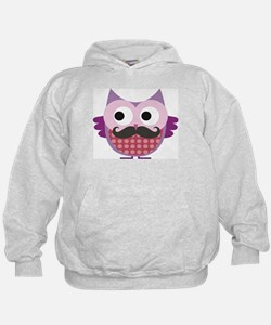 I mustache you....whoo do you love? Hoodie