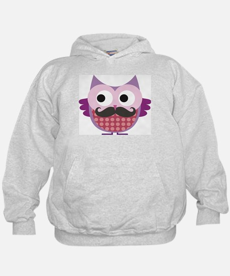 I mustache you....whoo do you love? Hoody