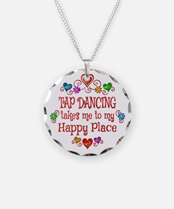 Tap Dancing Happy Place Necklace