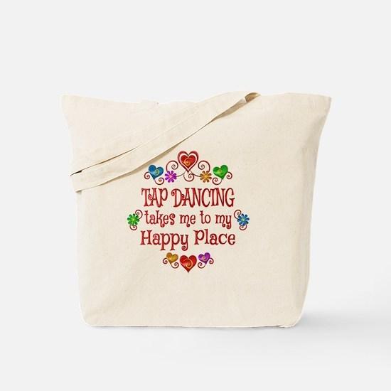 Tap Dancing Happy Place Tote Bag