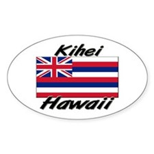 Kihei Hawaii Oval Decal
