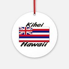 Kihei Hawaii Ornament (Round)